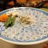 料亭石川 - 料理写真:北限のフグ(男鹿産)