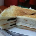 珈琲専門店 エース - のりトースト