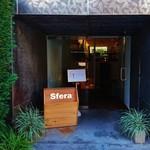 59440663 - 『カフェ・ドン バイ スフェラ』さんの店舗入口~♪(^o^)丿