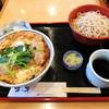 木の芽 - 料理写真:ヒレかつ丼セット
