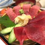 ばんや - マグロ丼¥1300