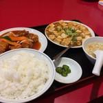 蓬莱閣 - 料理写真:Aランチ(864円税込)