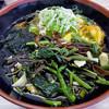 やなぎ庵 - 料理写真:山菜そば + かき揚げ(2016年11月)