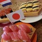 紀州 弥一 - お子様用♪1口サイズのお寿司。