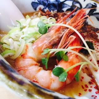 らーめん砦 - 料理写真:超人的海老潮