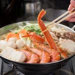 全席個室居酒屋 桜坂 - 本ズワイ蟹の豪華海鮮寄せ鍋