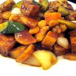華美 - 鶏肉の中華味噌炒めです
