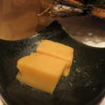 翔山亭  - 醤油を練りこんだバターダレ