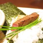 翔山亭  - シャトーブリアンの手巻き鮨