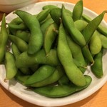 とんかつ まい泉 - 枝豆