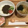 キッチン ワタミヤ - 料理写真:キーマカレーと温かいお蕎麦(^^)