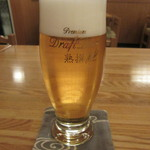 そば処 中村 - 「生ビール」