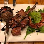 パーレンテッシ - お肉盛り合わせ、鹿ハンバーグ、ラム、サルシッチャ