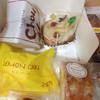 末広堂 - 料理写真:チョコのシュークリームと芋のモンブラン