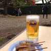 雁音茶屋 - 料理写真:生ビール&みそおでん