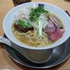 竹末東京プレミアム - 料理写真:濃厚鶏ホタテそば(900円)