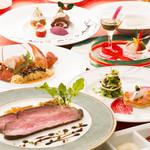 レストラン アンソレイユ - クリスマスコース 「エトワール 」