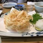 築地 布恒更科 - 「白魚の天ぷら」
