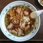 味久 - 料理写真:2016年11月 チャーシューワンタン麺 950円