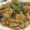 兆楽 - 料理写真:肉ナス味噌炒め