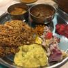 ゼロワンカレー - 料理写真:南インド定食(ビリヤニ)〜(*'ω.'*)/¥1200円