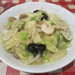 韮菜万頭 - 料理写真:チャップスイ麺(Chop suey noodle) 980円