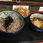 ボンサイ - 鶏つけ蕎麦と炊き込みご飯