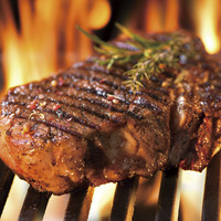 肉塊のままグリヤードでじっくり焼き上げます!