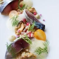 calme - 鯖のマリネ 大麦のサラダとともに