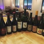 calme - グラスワインは40種類ほどを常時おいています。その日のワインの体調に合わせて