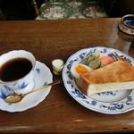 ホンキートンク - 料理写真:モーニングセット