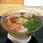 手打ちうどん長谷川 - 梅昆布うどん(830円)