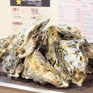 生牡蠣&焼き牡蠣が食べ放題!