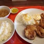 味楽亭 - 料理写真:チキン南蛮定食 ¥874