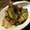 ツクシ - 料理写真:タコとアーリーレッドのマリネ  ライム風
