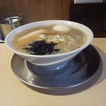 麺工 豊潤亭 - 中華そば(小)たまごトッピング