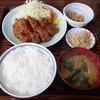 味処いちむら - 料理写真:牛カツ定食(1200円)