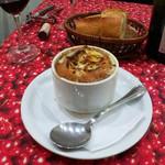 東京パリ食堂 - オニオングラタンスープ