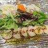 ちらい - 料理写真:「カルパッチョをホタテと活タコ」