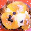 ラ・ギャミヌリィ - 料理写真:柿とチョコレートのデニッシュ¥230