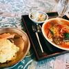 KARMA - 料理写真:『さかなのカレー+3辛追加+パパド』様(1500円+300円+100円)