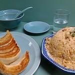 59602255 - あさり炒飯大盛りと餃子