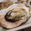 播磨水産 - 料理写真:殻付き蒸し牡蠣