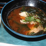 播磨水産 - 赤だし味噌汁