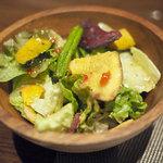 ラ・ボンボニエール - ランチのサラダ