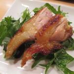 蘭奢待 - モモ肉焼き