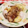 三好弥 - 料理写真:ロースポークエッグ定食(990円)