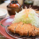 梅八 - ロースカツ定食