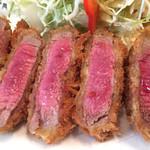 洋食SAEKI - ヘレビーフカツ ¥1380