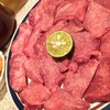 栄作 - 料理写真:塩タンとごはん大と栄作キムチ